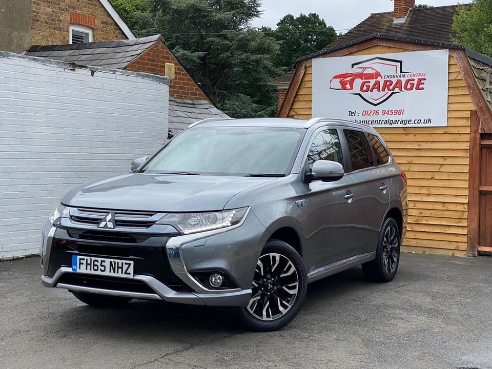 2016 Mitsubishi Outlander 2.0h 12kWh GX3h CVT 4WD (s/s) 5dr - Picture 5 of 33