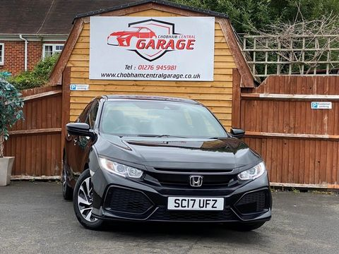 2017 Honda Civic 1.0 VTEC Turbo SE (s/s) 5dr